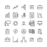 Premium set of business line icons. Simple pictograms pack. Stroke vector illustration on a white background. Modern outline style icons collection Stock Photos