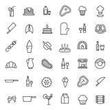 Premium set of food line icons. stock illustration