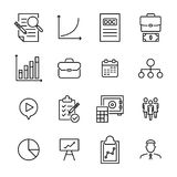 Premium set of management line icons. Simple pictograms pack. Stroke vector illustration on a white background. Modern outline style icons collection Stock Image