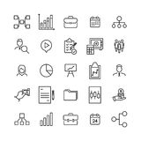 Premium set of management line icons. Simple pictograms pack. Stroke vector illustration on a white background. Modern outline style icons collection Stock Photos