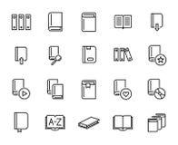 Free Premium Set Of Books Line Icons. Stock Photos - 100628473