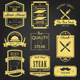 Premium Steak Vintage Label Royalty Free Stock Photo