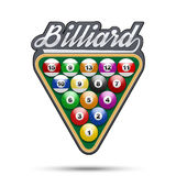 Premium symbol of Billiard Tag Royalty Free Stock Photo