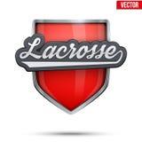 Premium symbol of Lacrosse label Royalty Free Stock Photo