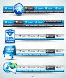 Premium templates and Web stuff Royalty Free Stock Photos