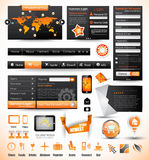 Premium templates and Web stuff master collection: Royalty Free Stock Images