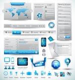 Premium templates and Web stuffs Royalty Free Stock Photos
