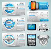 Premium templates and Web stuffs stock illustration