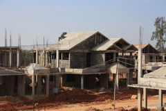Premium Villa Under Construction Royalty Free Stock Images