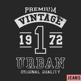 Premium vintage stamp Royalty Free Stock Images