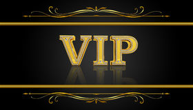 Premium VIP card. VIP club party premium card Stock Photography