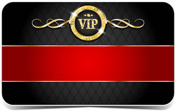 Premium vip card. Premium vip glossy card for web sites Royalty Free Stock Image