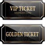 Premium Vip Tickets Stock Image