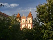 Premonstratensian kloster i Louka nära Znojmo, Tjeckien royaltyfri fotografi