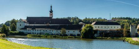 Free Premonstratensian Monastery, Geras Stock Image - 130601971