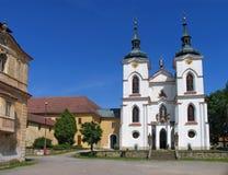 Premonstratensianklooster, Zeliv, Tsjechische Republiek Royalty-vrije Stock Foto