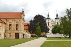 Premonstratensianklooster, Zeliv, Tsjechische Republiek Royalty-vrije Stock Fotografie