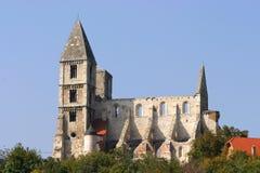 Premontre monastery church Zsambek Hungary Royalty Free Stock Image