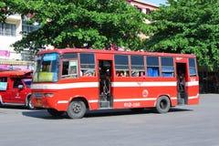 Prempracha公司老公共汽车  图库摄影