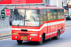 Prempracha company bus no.2201-107. Stock Photography