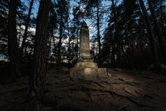 Premysl-Monument, Mala Skala Stockfotos