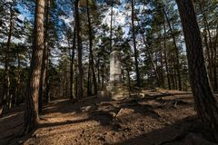 Premysl monument, Mala Skala Stock Photography