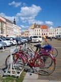 Premysl Otakar Quadrat, Ceske Budejovice, tschechischer Repräsentant stockbild