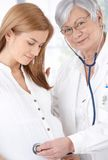 Prenatal care Stock Photography