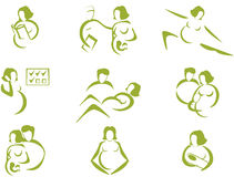 Prenatal and childbirth Stock Photography