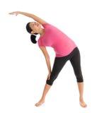 Prenatal yoga Stock Images