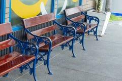 Prenda ad una sedia del sedile i corridoi Fotografie Stock Libere da Diritti