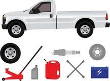 Prenda il camion illustrazione vettoriale