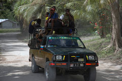 Prenda il camion. Fotografie Stock Libere da Diritti