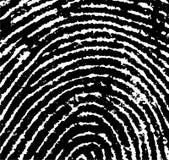 Il raccolto 3 dell'impronta digitale fotografie stock