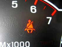 Prenda Seatbelts Fotos de Stock