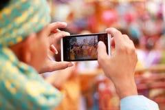 Prenda una foto Fotografia Stock
