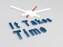 Prende il concetto di tempo Immagini Stock