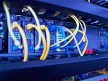 Prende servidores de conexão Fotografia de Stock Royalty Free