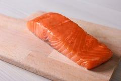 Prendedero de color salmón delicioso fotografía de archivo