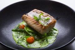 Prendedero de pescados blancos cocinado Imagenes de archivo