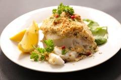 Prendedero de pescados frito Fotografía de archivo