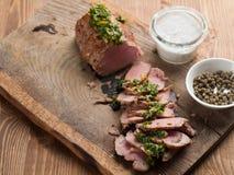 Prendedero delicioso de la carne de vaca Fotografía de archivo libre de regalías