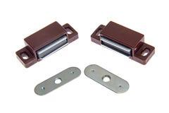 Prendedores magnéticos do gabinete Fotografia de Stock Royalty Free