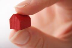 Prendendo a casa vermelha Imagem de Stock