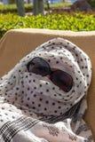 Prendendo il sole dallo stagno, l'Egitto Fotografia Stock