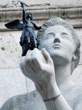 Prendendo um anjo fotografia de stock royalty free