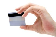 Prendendo um cartão de crédito foto de stock royalty free
