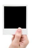 Prendendo um frame de retrato Imagem de Stock