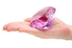 Prendendo uma gema preciosa Imagens de Stock Royalty Free