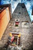 Prendiparte tower in Bologna Royalty Free Stock Photos